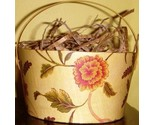 Buy Gift Boxes - 4&quot; Round Gift Box Williamsburg Paradise Vine Pattern by Bob'