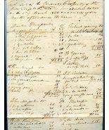 1829 Estate ELIZABETH JAMESON Culpeper County, ... - $95.00