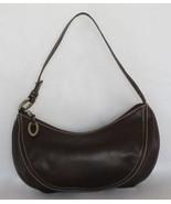 $1300 AUTH Oscar de la Renta brown leather handbag - $94.95