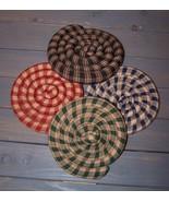 Handcrafted~Scented Coaster~Trivet~Mug Mat Bz. - $10.90