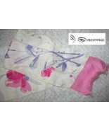 Vintage  Vera Neumann Pink and Purple Floral Sc... - $6.99