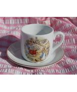 Beatrix Potter Peter Rabbit Child's Cup and Sau... - $9.99