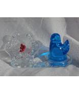 Blue Bird and Flower, 1994 Leo Ward Bluebird of... - $15.99