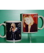 Barbra Streisand 2 Photo Designer Collectible Mug - $14.95