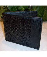 Bosca Men's Executive Leather ID Wallet Black M... - $44.00