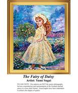The Fairy of the Daisy,  Fantasy Counted Cross ... - $20.00