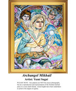 Archangel Mikhail,  Angel Counted Cross Stitch ... - $20.00