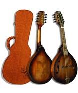 Morgan Monroe A Style Walnut Finish Mandolin Wi... - $399.95