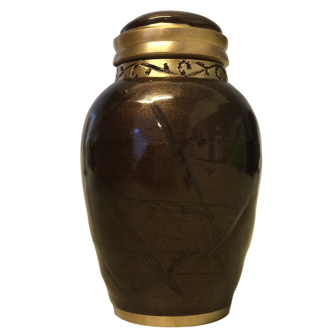 Blessing Bronze Small Keepsake Urn Cremation Urns For Ashes