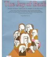 The Joy of Bach Edited by Denes Agay Solo Piano - $12.95