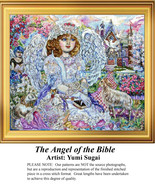 The Angel of the Bible, Angel Counted Cross Sti... - $20.00