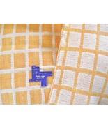 Vtg REVERSIBLE WOOL blend? FABRIC~Windowpane Ch... - $79.19
