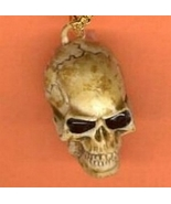 SKULL KEYCHAIN-Realistic Punk Pirate Gothic Cha... - $6.97