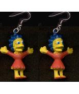 LISA EARRINGS-The Simpsons Cartoon Character Fu... - $6.97