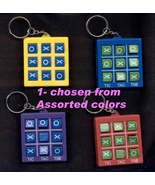 TOSS ACROSS NOVELTY KEYCHAIN-Tic-Tac-Toe Game T... - $4.97