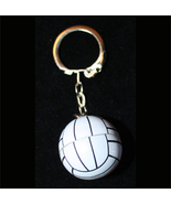 VOLLEYBALL KEYCHAIN-3d Team Fun Coach Gift Funk... - $2.97