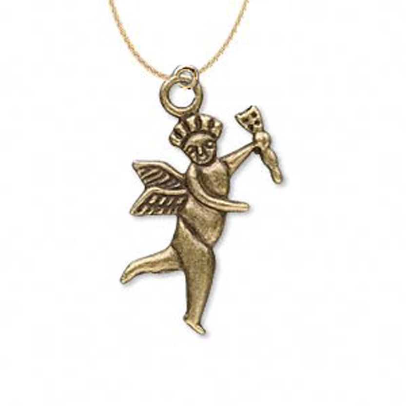 Cupid_20cherub_20gold_20pewter_20necklace