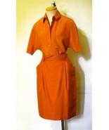 ELLEN TRACY Linda Allard Women's Orange Nubby  ... - $19.99