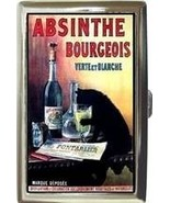 ABSINTHE BOURGEOIS BLACK CAT DRINKING CIGARETTE... - $16.99