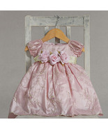 Dressy Holiday Embroidered Pastel Pink Boutique... - $34.99