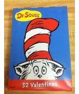 Dr Seuss Valentines 32 NIB - $2.99