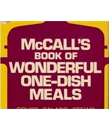 McCall's Book Of Wonderful One-Dish Meals Cookbook - $5.99