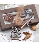 1 Vintage Skeleton Key Bottle Opener Wedding Fa... - $3.28
