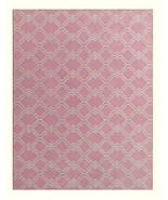 Trellis Scroll Pink 5x8 Kids Persian Style Wool... - $211.65