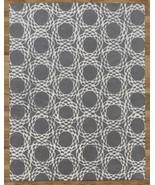 Arabesque Scroll Gray 9' x 12'  Handmade 100% W... - $769.00