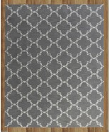 MODERN TRELLIS GRAY 4' x 6' CONTEMPORARY STYLE ... - $169.15