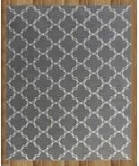 MODERN TRELLIS GRAY 3' x 5' CONTEMPORARY STYLE ... - $135.15
