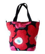 Authentic Marimekko Poppy Canvas Market Tote Sh... - $15.00