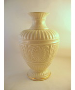 Lenox Tall Athenian Vase Ivory with Gold Accent... - $351.44