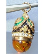 Vintage Russian Egg Fabergé Inspired Enamel Pen... - $24.99