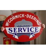 Vintage Sign McCormick-Deering Service Double S... - $2,160.10