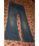 Tommy Hilfiger Jeans In Juniors Size 11 Zipper Front Inseam 32 1/2 Inches Long 