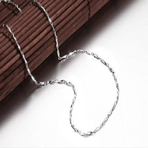 Ladies Fashion Silver Necklace Silver Jewelry I... - $50.38