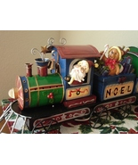 Santa and Friends Illuminated Metal and Resin T... - $11.50