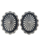 Sterling Silver Santa Fe Style Navajo Stamped C... - $151.17