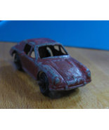 Red Vintage Tootsie Toy Die Cast Metal Porsche ... - $7.99