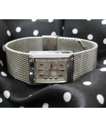 Vintage Ladies Timex Electric Watch stainless s... - $29.99