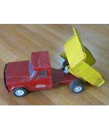 Tonka Mound Minn Metal Dump Truck red and yello... - $59.99