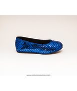Sequin Girls Royal Blue Dress Shoes by Princess... - $29.99
