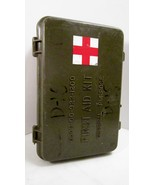 Desert Storm era US Military First Aid Kit OD P... - $14.99