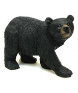 resin Black Bear on the Stalk collectible statue - $9.55