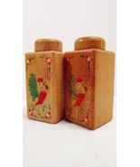 Salt and Pepper Shakers Wooden Country Kitchen ... - $15.99