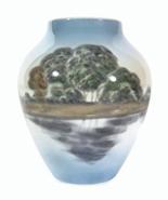 Bing & Grondahl Vintage Porcelain Landscape Vas... - $35.00