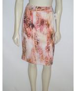 Calvin Klein Snakeskin Print Skirt Straight Pen... - $20.97