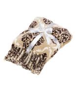 BAROQUE Tassel Throw Blanket 52 by 58 - $16.95