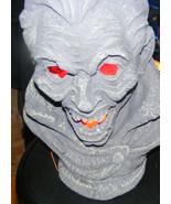 Light Up Halloween Vampire Dracula Bust New - $29.69